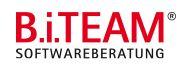 Unternehmens-Logo von B.i.TEAM Gesellschaft für Softwareberatung mbH