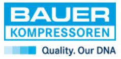 Unternehmens-Logo von BAUER KOMPRESSOREN GmbH