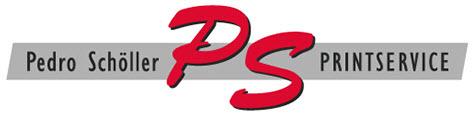 Unternehmens-Logo von Pedro Schöller PRINTSERVICE GmbH