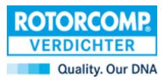 Unternehmens-Logo von ROTORCOMP VERDICHTER GmbH