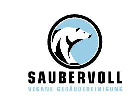 Unternehmens-Logo von saubervoll vegane Gebäudereinigung