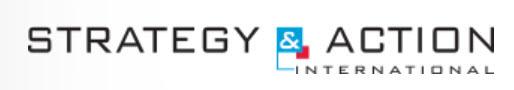 Unternehmens-Logo von STRATEGY & ACTION International GmbH