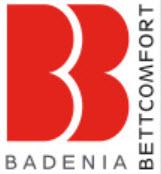 Unternehmens-Logo von Badenia Bettcomfort GmbH & Co. KG