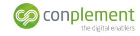 Unternehmens-Logo von conplement AG