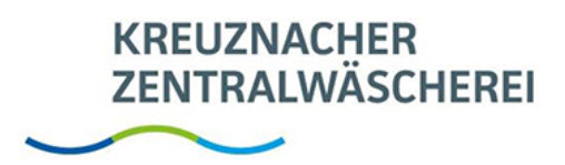 Unternehmens-Logo von Kreuznacher Zentralwäscherei GmbH & Co. Mietwäsche KG