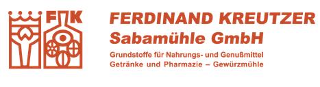 Unternehmens-Logo von FERDINAND KREUTZER Sabamühle GmbH